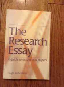 """""""THE RESEARCH ESSAY"""" FOR WRITING ESSAYS"""