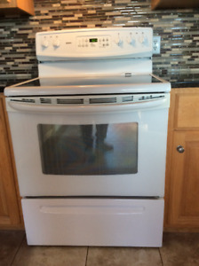 Kenmore electric stove and hood range for sale