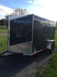 Stealth Cargo Van trailer
