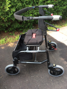 Nexus Cable Free Walker with Soft Sided Basket