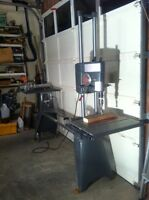 Shopsmith Tablesaw,bandsaw,jointer,drill press,planer,lathe,more