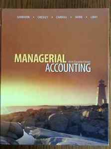 Managerial Accounting Kitchener / Waterloo Kitchener Area image 1