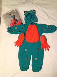TODDLER FROG Costume - Size: 3-4T