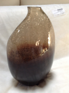 really nice light and dark brown vase