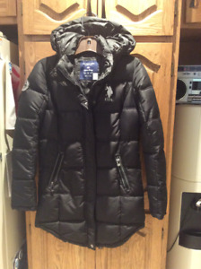 Manteau  3/4 d'hiver - fille / girl's winter coat 3/4