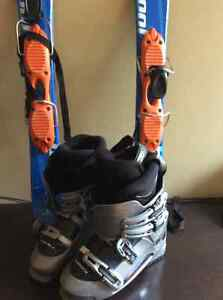 Mini Skis and Boots
