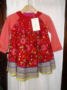 New w/Tags Designer Catimini Girls Dress 18-24 mths Reg. $105+tx