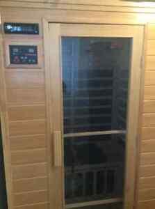 Hemlock 2 Person Low Carbon Fiber Sauna