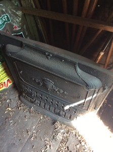 Free Antique Cast Iron Fireplace Insert