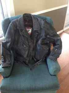 Unisex Motorcycle leather jacket.  MINT condition.