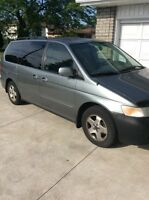 2001 HONDA ODYSSEY --- reliable and great Van