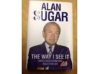 Kerry Katona, Alan Sugar, Steve Jobs, Peter Kay autobiographies as new