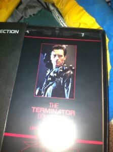 Terminator VHS collectors edition 3 tapes London Ontario image 3