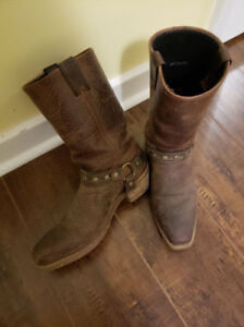 Square Toed Cowboy Boots