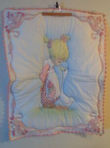 Precious Moment Girl Handmade Baby Quilt