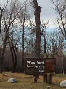 PRICE REDUCED 5.09+- Acres rural near Woolford Park, WITH HOME