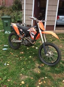 2008 ktm250 sxf with new motor