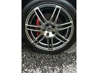 Alloy wheels and tyres Audi vw seat