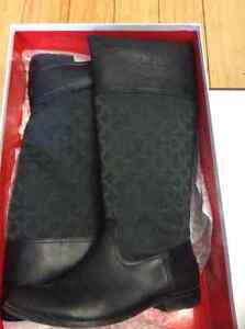 Coach Chrissi boots size 8.5