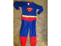 Men's superman onesie size large