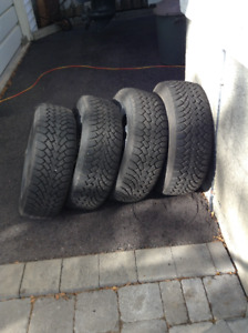 Goodyear Nordic Winter tires (4)