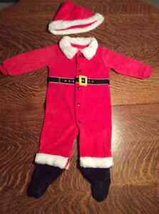 Santa Clause Outfit (Sleeper) with hat Cambridge Kitchener Area image 1