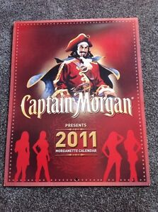 Captain Morgan signed calendar.  Regina Regina Area image 2