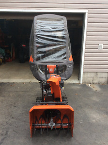 Bought in march 2017 one Husqvarna snowblower used twice