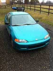 2 Cars 1993 Honda Civic Coupe (2 door) 5 speed