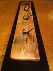 Driftwood Coat Hook Board