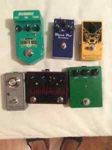 Quality overdrive pedal clear out