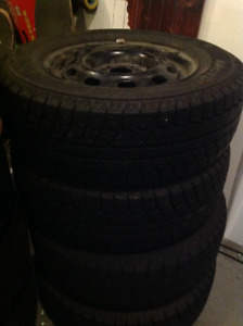 Arctic Weathermate Winter Tires/Rims