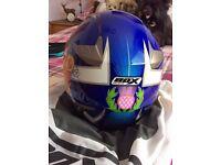 Gents motorcycle helmet