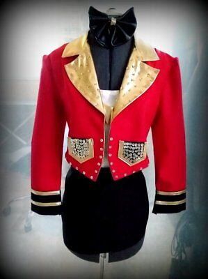 .Ringmaster Costume Jacket Fancy Sequins](Ringmaster Jacket Women)