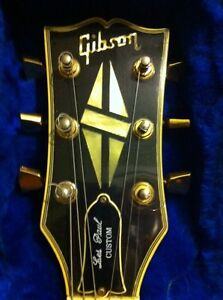 1979 Gibson Les Paul custom with chainsaw case  Cambridge Kitchener Area image 2