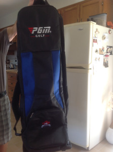 PGM Golf Air Travel Bag with wheels - Brand New