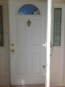 Front Entry Door 36 x 80 with Sidelites
