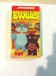 Star Wars Ewoks Vhs