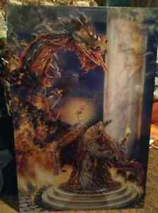 Wizard and Dragon poster Kitchener / Waterloo Kitchener Area image 1