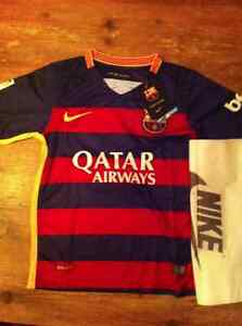 Jersey FC Barcelone Messi junior- taille M - Neuf Saguenay Saguenay-Lac-Saint-Jean image 1