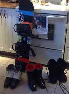 2 pairs of boys ski boots.20.00 each pair