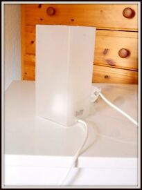 Frosted Glass Table Lamp- VERY GOOD CONDTION!