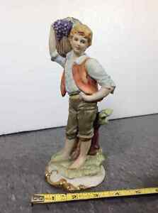Vintage LEFTON Figurine Hand Painted Bisque Porcelain