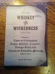 Whiskey and Wickedness Volume 4 by Larry D. Cotton