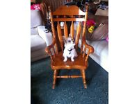 Big beautiful rocking chair £90 Ono