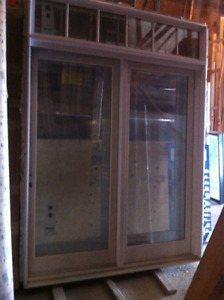 integrity french  door with transom.X 2 UNITS