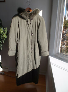 Manteau long duvet/Long down coat