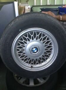 ORIGINAL BMW RIM WITH  HANKOOK TIRE FOR SALE