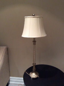 Floor lamp and table l