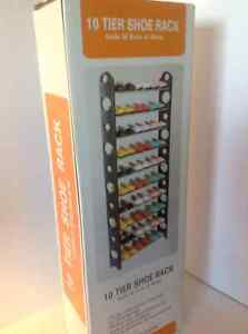 Shoe Rack (30 pair ) new in box from manufacturer London Ontario image 4